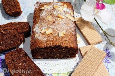 Di gotuje: Kakaowo-kokosowe ciasto z wafelków (bez mąki)