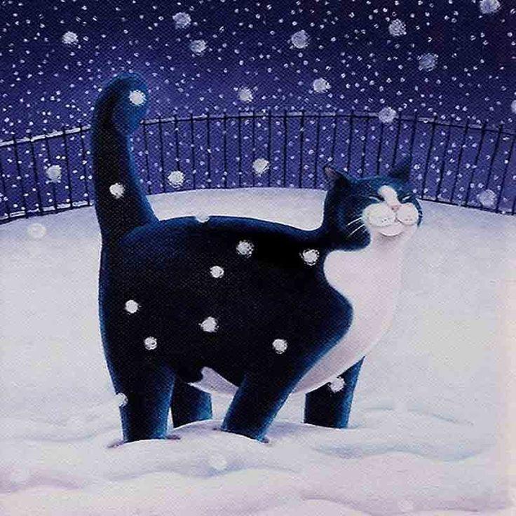 adelina_4 - Vicky Mount. Про зиму и кошек.