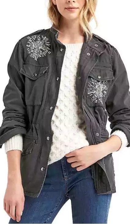 beaded jacket