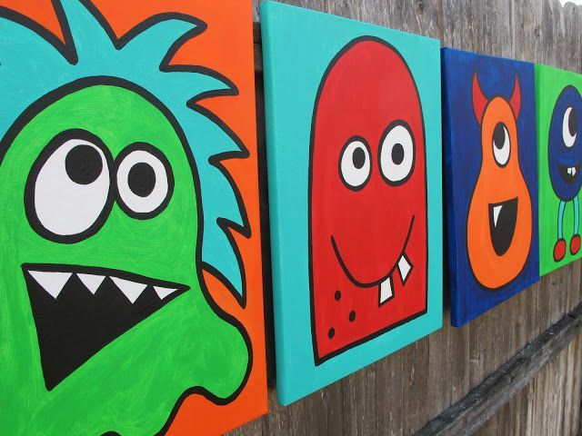 30 More Easy And Simple Canvas Painting Ideas For Beginners Kids