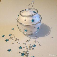 Boule de Noël en polystyrène