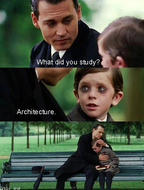 originally from 'I am architect'