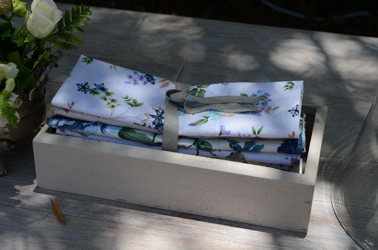 botanical serviettes