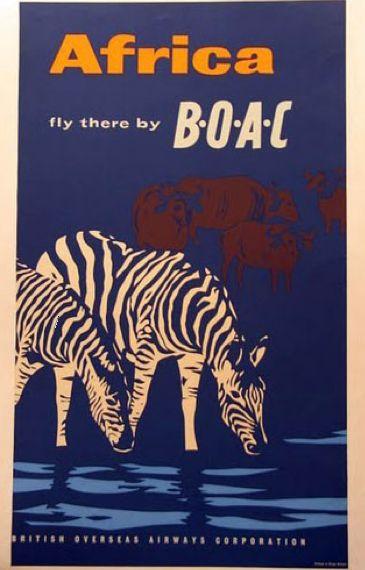 Africa - Fly BOAC.