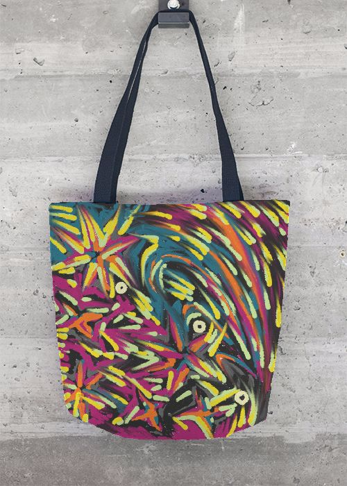 Foldaway Tote - I AM YOUR BIRDIE by VIDA VIDA rD2CdOY5VJ