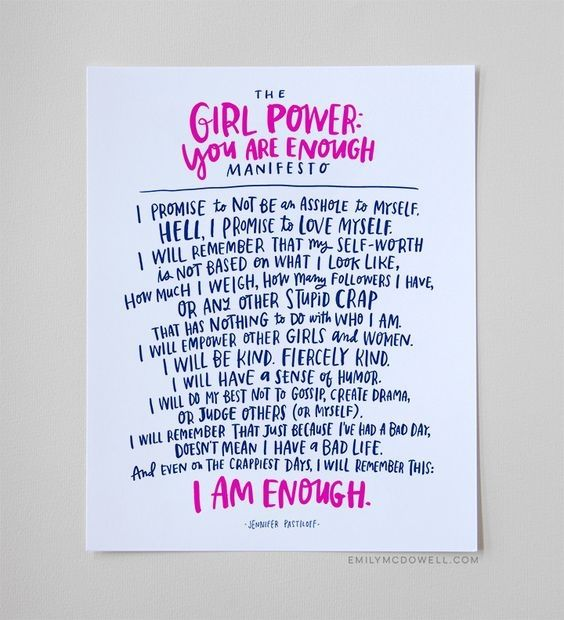 Create Your Own Empowerment | 11 Feminist Crafts You'll Actually Want to Do | http://www.hercampus.com/diy/crafts/11-feminist-crafts-youll-actually-want-make
