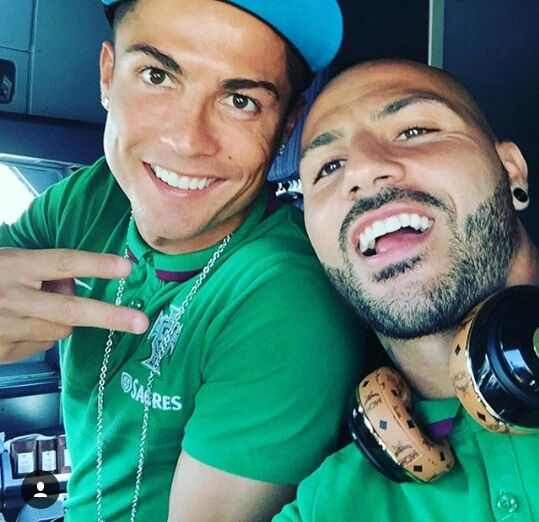 Cristiano and Ricardo Quaresma