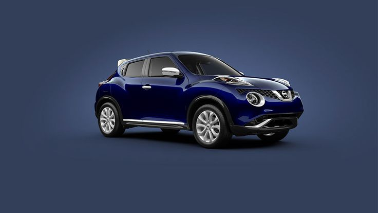 Nissan JUKE® SL shown in Cosmic Blue with White Colour Studio accessories