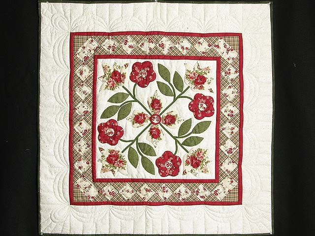 16 best Amish Applique Quilts images on Pinterest   Sconces ... : amish wall quilts - Adamdwight.com