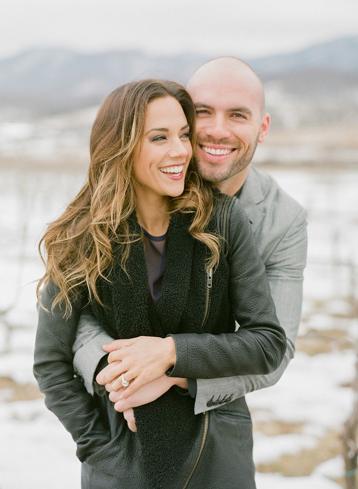Jana Kramer's romantic winter engagement session! | Photography: Gianny Campos  - www.giannycampos.com