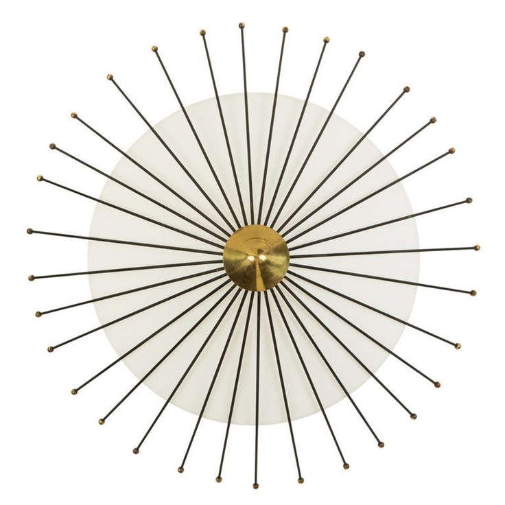 Angelo Lelli Ceiling Light | From a unique collection of antique and modern flush mount at http://www.1stdibs.com/furniture/lighting/flush-mount-ceiling-lights/