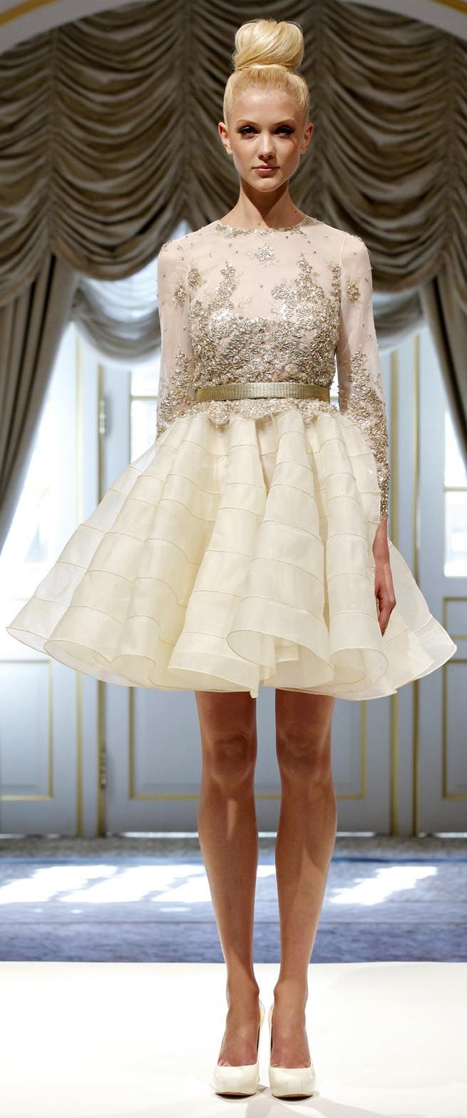 #Dennis Basso Spring Summer 2013 Ready-To-Wear collection #Bridesmaid Dress #Rehearsal Dinner