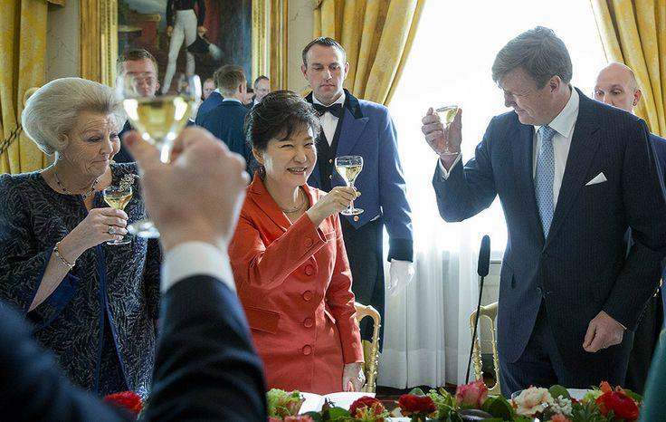 Princess Beatrix and King Willem-Alexander