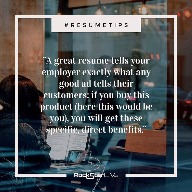 A great #resume tells your employer exactly what any good ad tells their customers: if you buy this product (here this would be you) you will get these specific direct benefits. #JobHunt #JobTips #Recruitment #JobHunter #GetThatJob #GoBeGreat #Resume #Interview #InterviewTips #ResumeTemplates #Tips #JobSearch #Hiring #ResumeWriting http://rockstarcv.com/resume-writing-5-secrets-guarantee-killer-resume/ https://www.instagram.com/p/BO6YV46j85T/