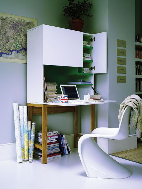 Otto Teemo Workstation And Panton Chair Design