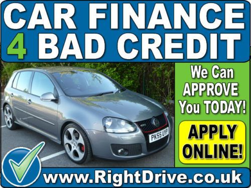 CAR FINANCE 4 BAD CREDIT - Volkswagen Golf 2.0T FSI GTI   eBay - http://www.ebay.co.uk/itm/350973373963  To APPLY for Finance Visit - http://www.gocarfinance.co.uk/inventory/vw-golf-2-0t-gti/