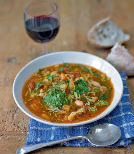 Tuscan-bean-soup