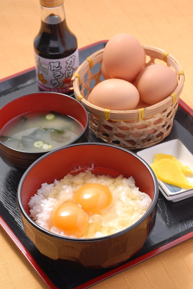Japanese Rice with egg - Tamago kake gohan