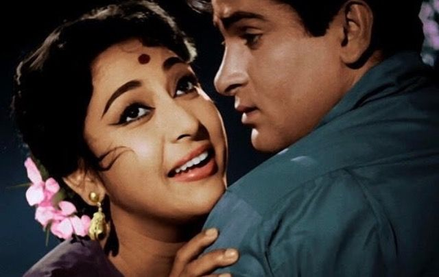 Mala Sinha and Shammi Kapoor