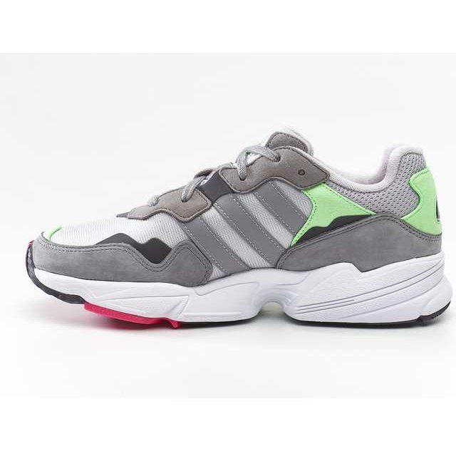 Sportowe Damskie Adidas Adidas Yung 96 Grey Two Grey Three Shock Pink Pink Adidas Sneakers Shoes