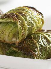 Kåldolmar - otro plato muy popular en mi país, se trata de una mezcla de carne picada y arroz envuelta en hojas de repollo o col.