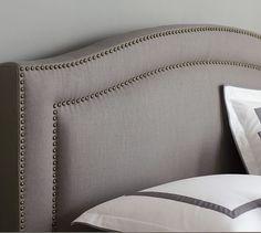 Tamsen Curved Upholstered Bed