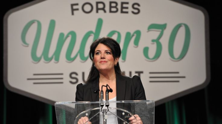 "In her first ever public address, Monica Lewinsky revealed her plan to launch a ""cultural revolution"" against the sort of online harassment she experienced firsthand in the late 1990s."