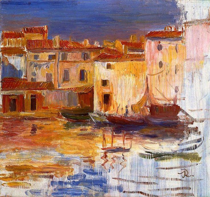 The Port of Martigues, Pierre Auguste Renoir (1888)