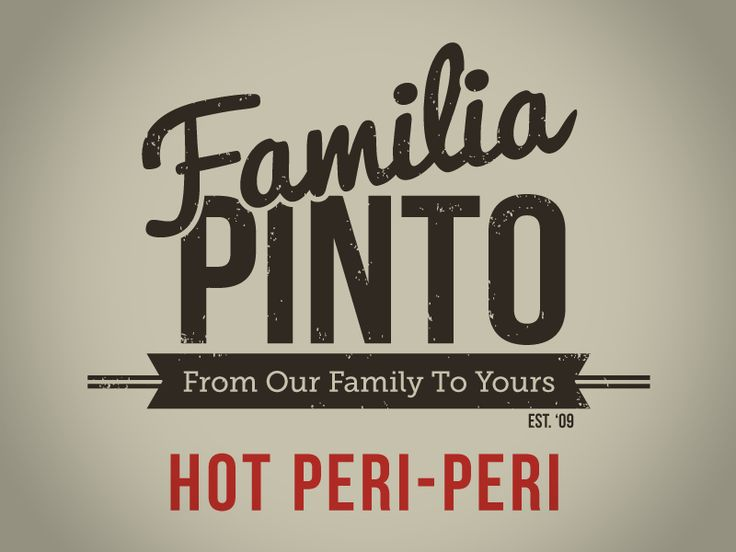 Familia Pinto Hot Peri-Peri - by Shane Rielly