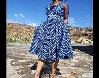 Ankara dress, African fashion, African clothing, ethic