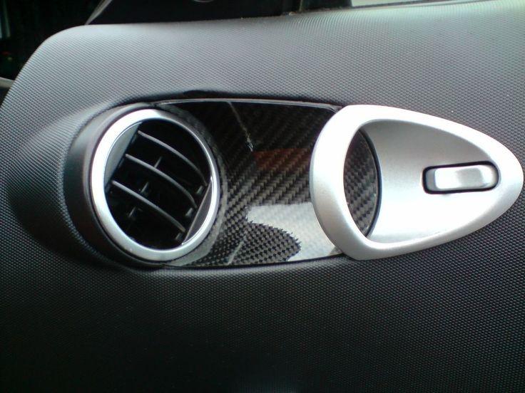 Nissan 350Z Echt Carbon Einlagen Türöffner 350 Z (Set 2 Teilig)
