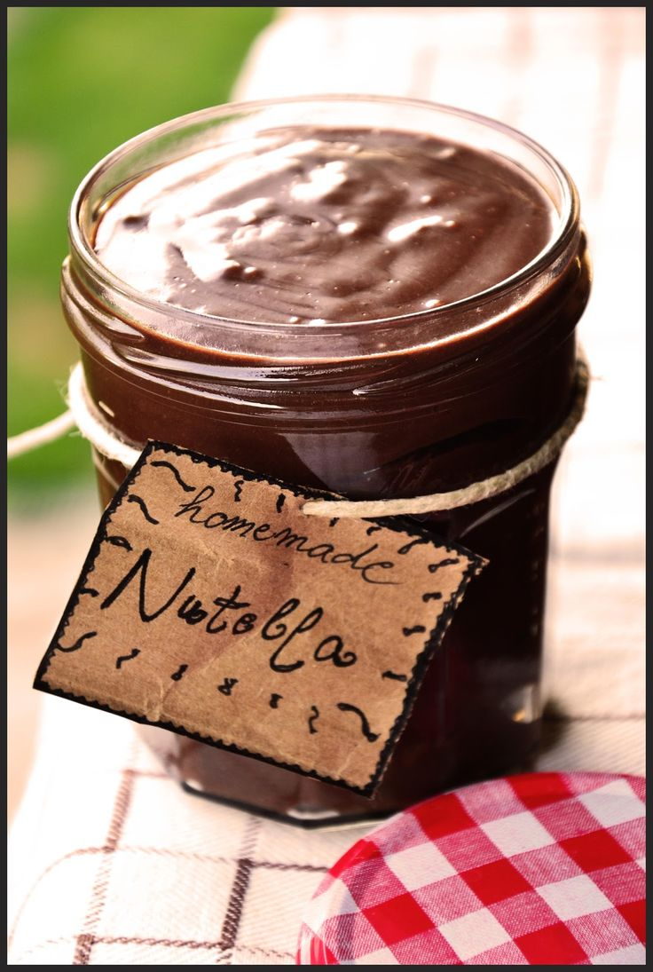 The eccentric Cook: Homemade Nutella