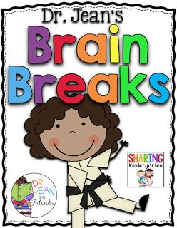 Dr. Jean's Cheer Cards {freebie} - Sharing Kindergarten