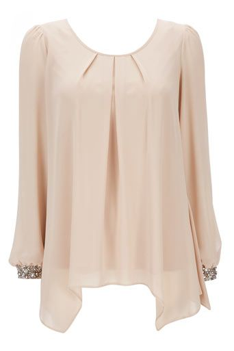 Stone Embellished Top