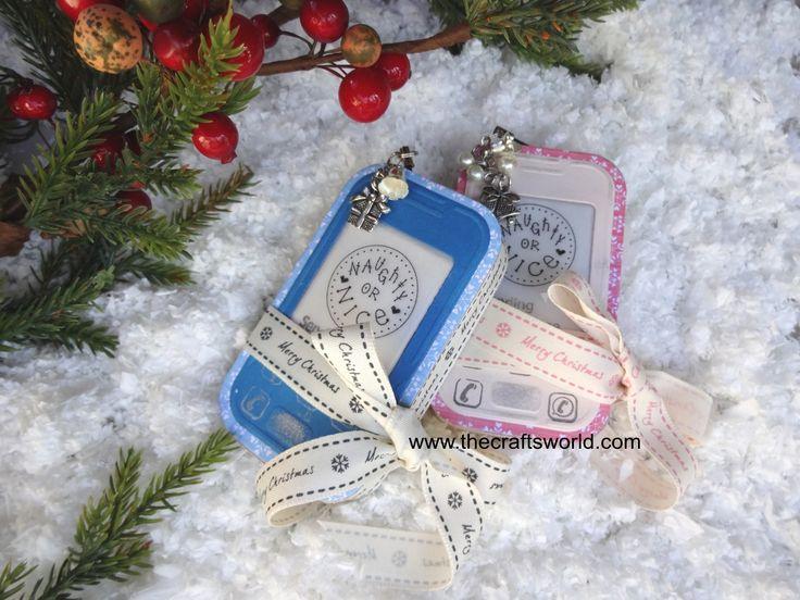 Teenage Christmas – Mobile phone gift boxes