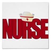 free nurse graphics | big_red_nurse_with_nursing_cap_poster ...
