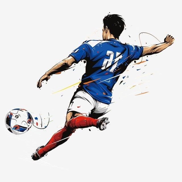 Man Playing Football Football Man Match Png Transparent Clipart Image And Psd File For Free Download In 2020 Football Background Football Logo Playing Football