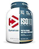 Dymatize ISO 100 Whey Protein Powder Isolate, Birthday Cake, 5 lbs