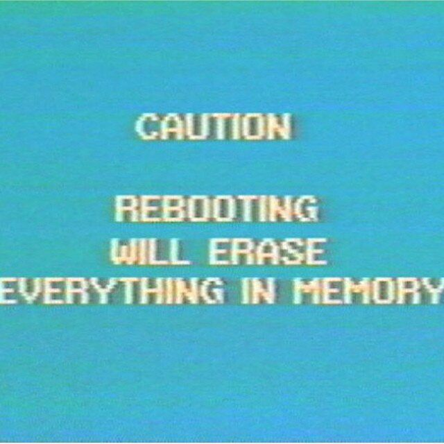 I want to reboot.