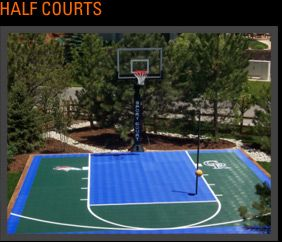 25 best images about outdoor play on pinterest pictures for Residential basketball court cost