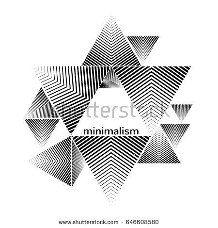 Abstract geometric composition. Technology banner. Hipster Triangle Background. Template with geometric shapes halftone. Vector illustration eps 10.