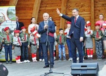 Prezydent Andrzej Duda odwiedził Busko-Zdrój   Towarzystwo Miłośników Buska-Zdroju