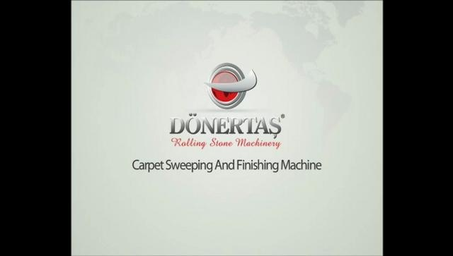 Carpet and Rug Sweeping and Finishing Machine