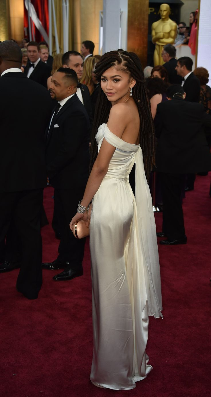 159 best zendaya images on pinterest black people dessert and celebritiesofcolor zendaya arrives on the red carpet for the oscars on february 2015 sciox Choice Image
