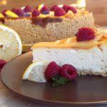 Citrónový cheesecake | Prudce Jedlé