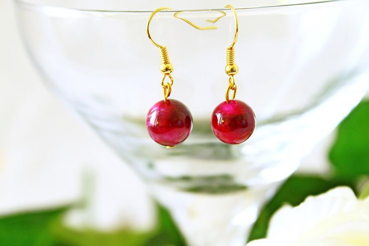 Give love and health for her to Valentine's day. Gemstone earrings. You can find this Tiger eye gemstone earrings here: https://www.etsy.com/listing/587158071/jewelry-handmade-metal-jewelry-bohemian?ref=shop_home_active_1