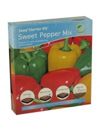 £1.00  - G Plants Seed Starter Kit Sweet Pepper Mix  Simply fill and sow, water and cover, let them grow!  Sow January to May, harvest May to September.  The propagator kit contains everything you need to grow these specially selected plants from seed.  The kit will give the plants an extra boost during the early stages of germination.