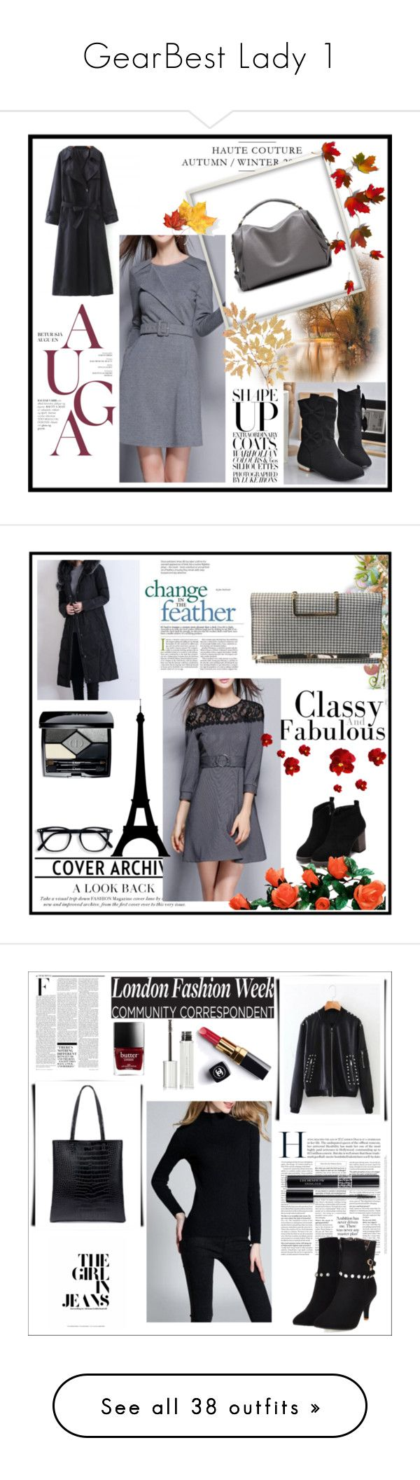 """""""GearBest Lady 1"""" by m-sisic ❤ liked on Polyvore featuring Christian Dior, Nicki Minaj, Chanel, Givenchy, Viktor & Rolf, lkid, Yves Saint Laurent, Vintage Print Gallery, Rosanna and Cyan Design"""