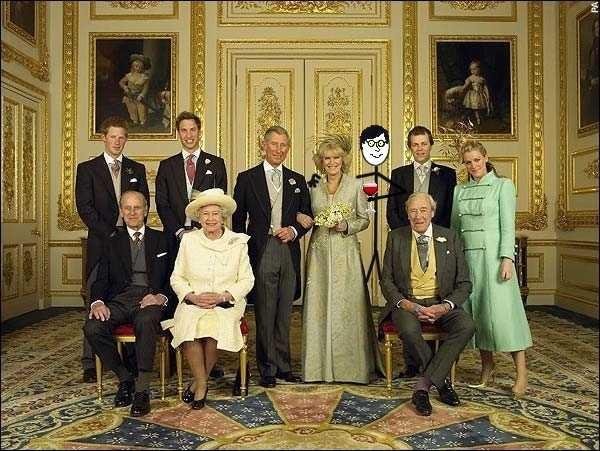 the British Royal family ...