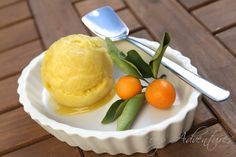 kumquat sorbet. yes, please.